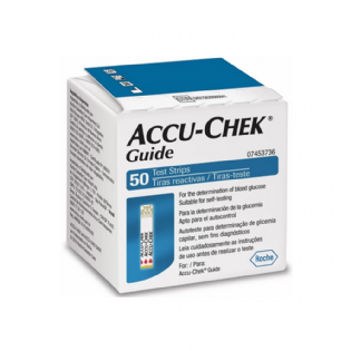 ACCU-CHEK GUIDE TEST STRIP 50 CT LATAM