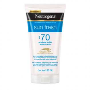 Sun Fresh FPS 70 120mL Protetor Solar Neutrogena
